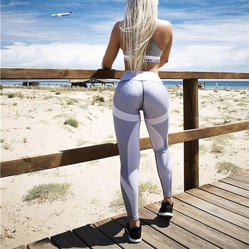 TUNSECHY 2019 Autumn Summer Fashion High Waist 3D Leggings Women Sexy Hip Push Up Pants Legging Jeggings Wholesale and retail - Joelinks store