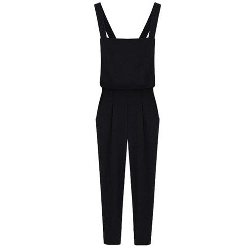 Fashion Women Romper Loose Jumpsuit Long Pants Trousers Casual Romper Bodysuits - Joelinks store