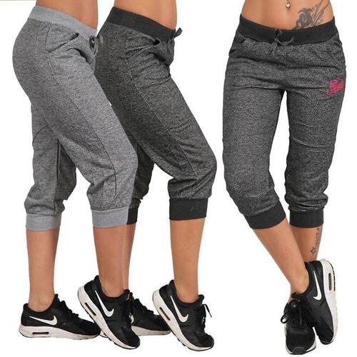 Zogaa 2019 Fashion Style Women Summer Pants Women Trousers Hoody Pants Mid Waist Capri Pants Calf-Length Pants Pockets S-XXXL - Joelinks store