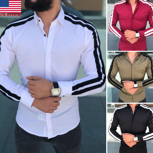 2019 Spring Autumn Features Shirts Men Casual Shirt New Arrival Long Sleeve Luxury Casual Slim Fit Male Shirts - Joelinks store