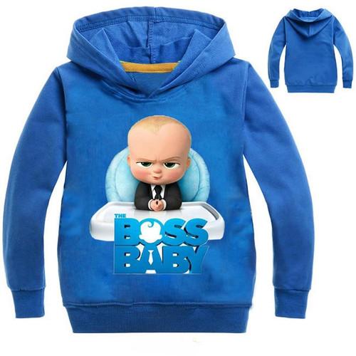 The Boss Baby Cartoon Hoodies Boys Children Kids Tops  Sweatshirts Baby Boy's Clothing Cotton Clothes - Joelinks store