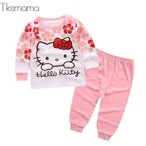 Baby Girl Hello Kitty Clothing Set, Infant Clothes Newborn Clothes Bebes Outfits - Joelinks store