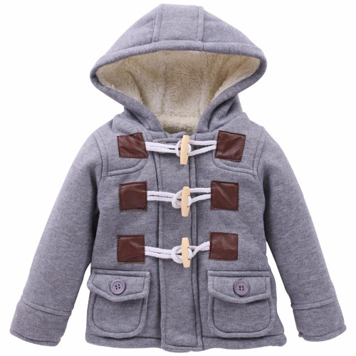 2018 Kids Clothes For Children Clothing Infant Baby Boy Clothes Autumn Winter Hooded Jacket For Boys Coat Outerwear 2 5 6 Years - Joelinks store