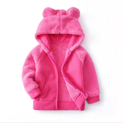 New baby boys girls clothes winter jackets coats fleece fashion 2019 children's hoodies outwear kids boys girl clothing wear - Joelinks store