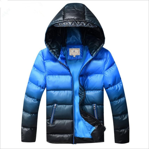 Boys Winter Coat Padded Jacket Outerwear For 8-17T Fashion Hooded Thick Warm Children Parkas Overcoat High Quality 2019 New - Joelinks store