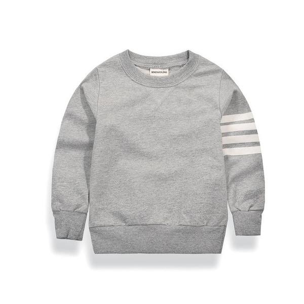 BINIDUCKLING Autumn Winter Pullover Baby Boy Children Long Sleeve Top Clothing Kids Child Cotton Sweatshirt Clothes 2T-7T - Joelinks store
