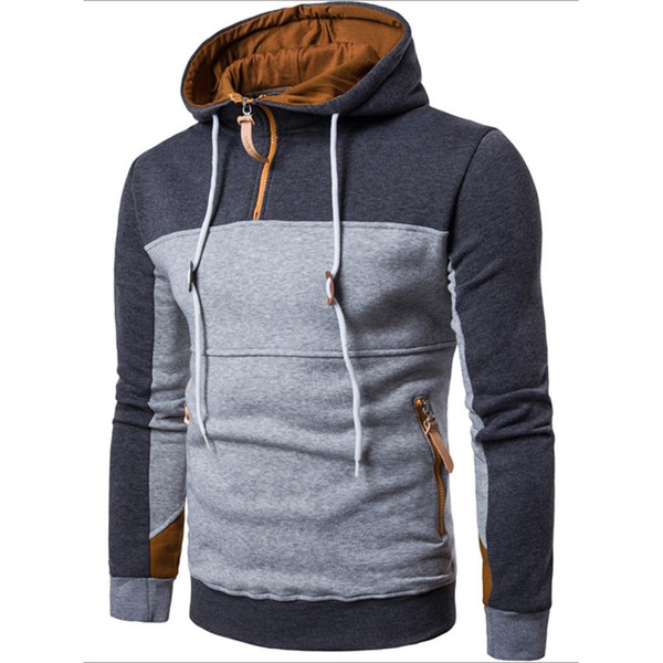 Autumn Winter Men Sweatshirts Long Sleeve Hoodie Hooded Sweatshirt Tops Jacket Coat Outwear male Tops Shirt Fashion Casual Coats - Joelinks store