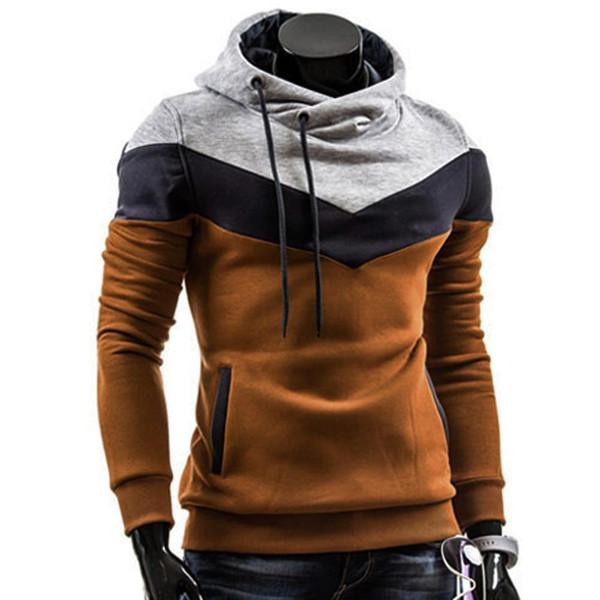 Fashion Autumn Winter Men Hoodie Sweatshirt Long Sleeve Tops Shirt Sweatshirts Pullover Sweatshirt Male Coats Outerwear Shirt - Joelinks store
