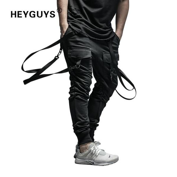 2019 New Dry Men's Pants pocket Full Length Men HIP HOP joggers Pants Plus Size Trousers  men belt women street wear - Joelinks store