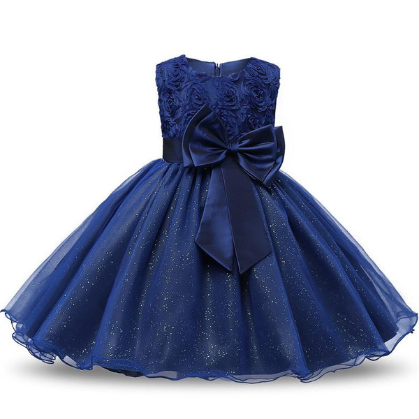 Princess Flower Girl Dress Summer Tutu Wedding Birthday Party Kids Dresses For Girls Children's Costume Teenager Prom Designs - Joelinks store