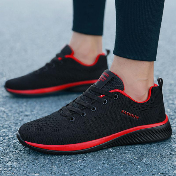 2019 New Mesh Men Casual Shoes Lac-up Men Shoes Lightweight Comfortable Breathable Walking Sneakers Tenis Feminino Zapatos - Joelinks store