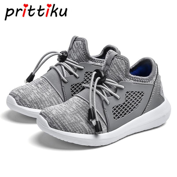 Spring 2018 Toddler Boy Girl Knit Mesh Sneakers Little Kid Casual Sport School Trainers Children Brand Fashion Lightweight Shoes - Joelinks store