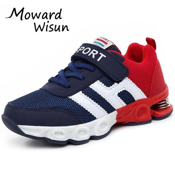 Damping Design Children Shoes Boy Sneakers for Girls Sport Shoes Kids Running Shoes Child Trainers Basket Casual Breathable 50 - Joelinks store