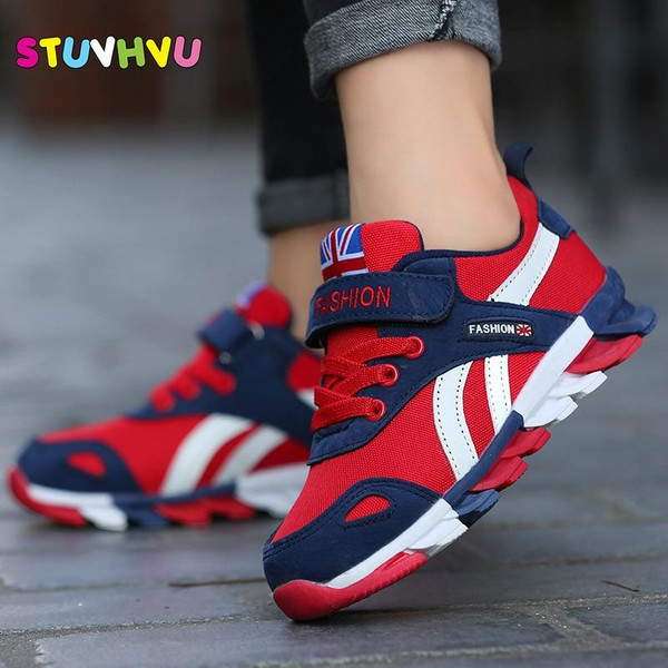 2018 New Children shoes boys sneakers girls sport shoes size 26-39 child leisure trainers casual breathable kids running shoes - Joelinks store