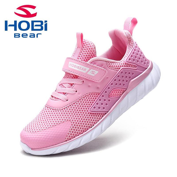 Kids Sport Shoes for Children Boys Girl Sneaker Tennis Trainers Breathable Footwear Mesh Running Casual Shoes HOBIBEAR H7621 - Joelinks store