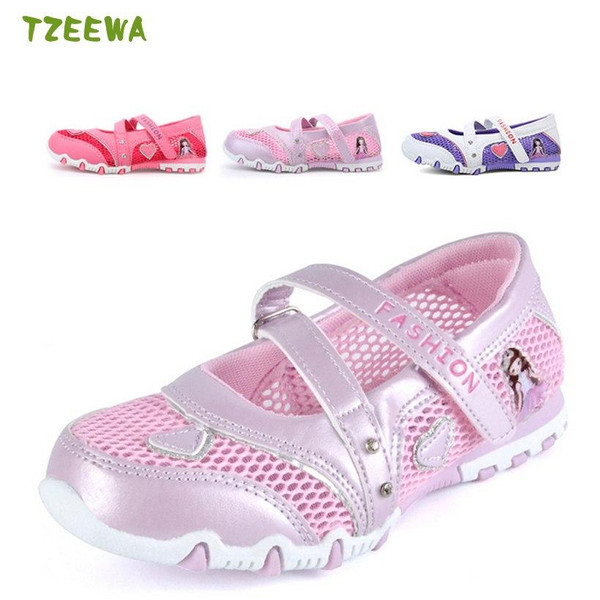 2018 Summer Kids Sneakers Breathable Girl Trainers Children Casual Shoes Mesh Sport Shoes For Girls Running Shoe - Joelinks store