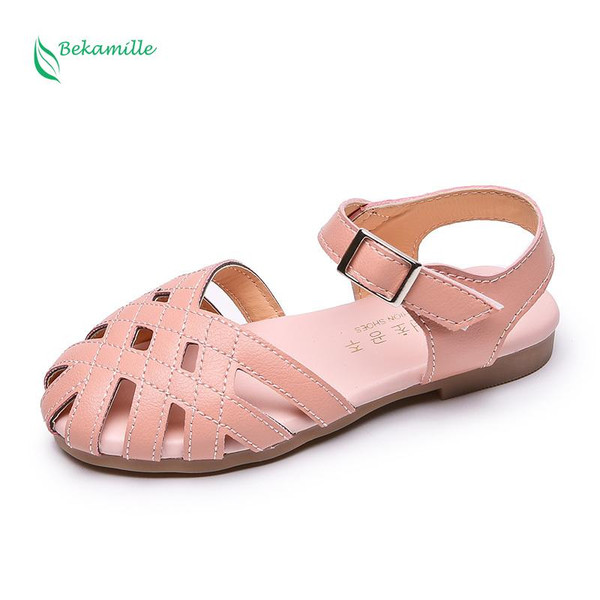 Summer Baby Girls Shoes Toddler Infant Kids Princess Roman Shoes Sandals For Children Girl Cut-outs Sandals