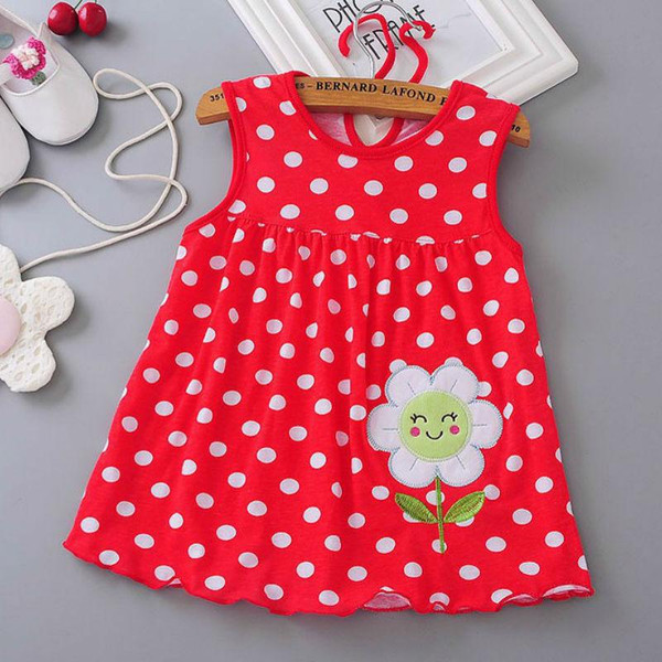 Baby girl dress 2018 summer girl baby dress, hot summer baby dress