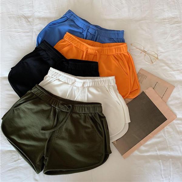 Women's Summer Wide Leg Shorts Casual All-match Loose Cotton Short