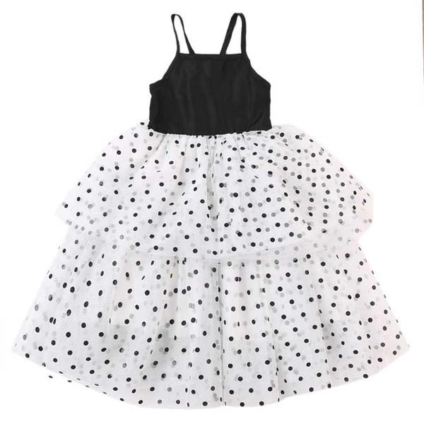 1-5Y Toddler Baby Kid Girl Dot Tutu Dress Ruffles Tulle Party Wedding