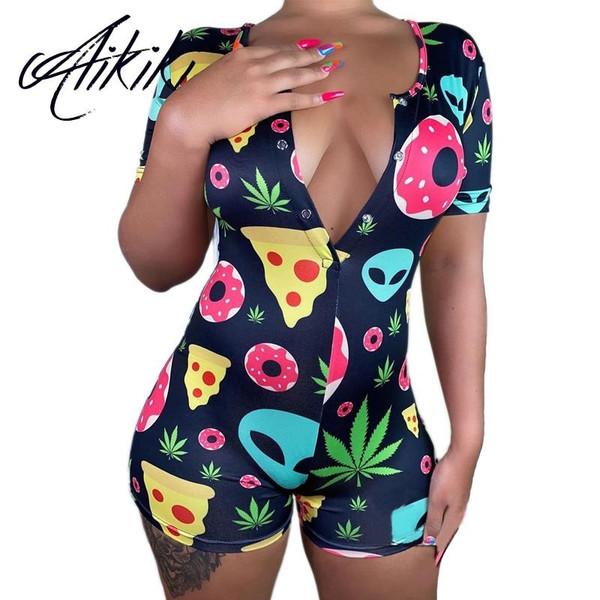Sexy Women Onsies Pijamas Plus Size Sleepwear Pyjamas Nightwear