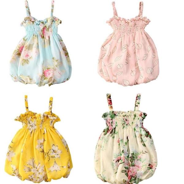 Summer Toddler Infant Slim Dress Soft Cotton Girls Dresses