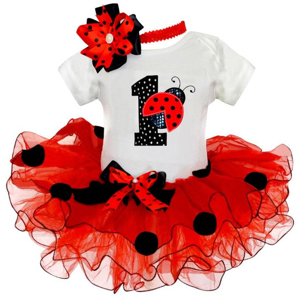 Little Baby Girl Clothes Infant Girls First  Birthday Outfits