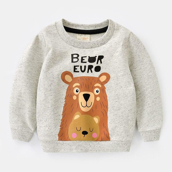 Boy's hoodie new fall collection children's wear long sleeves autumn children