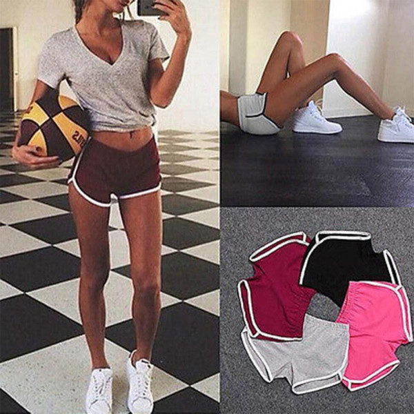Ladies Sport Running Fitness Jogging Shorts Small to XL