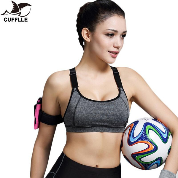 CUFFLLE  Sports Bra For Running Gym Fitness Top for Women Ladies