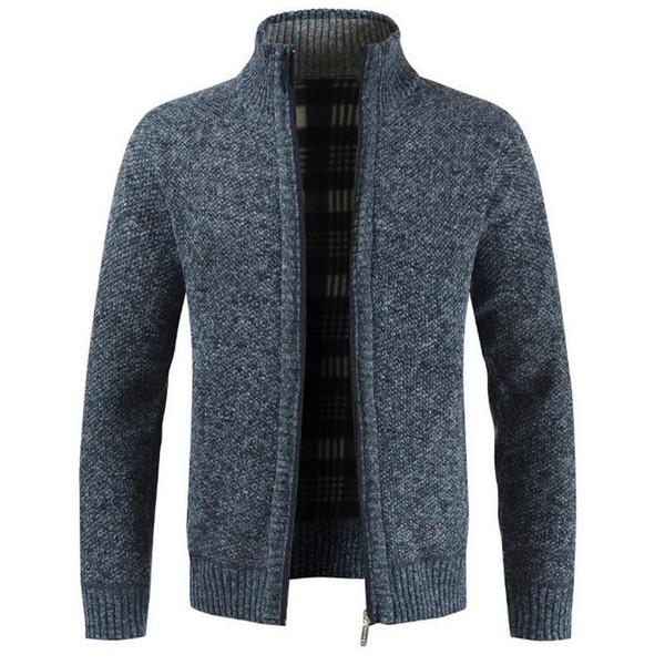 Autmn Sweater Cardigan for Men Brand Slim Fit Knitwear Outwear