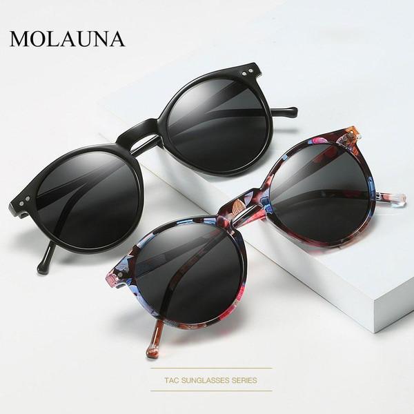 2020 Polarized Sunglasses Men Women unisex Brand Designer Retro Round Sun Glasses