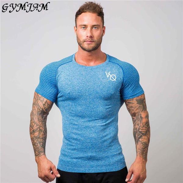 Fashion brand sportswear casual men's top t-shirt