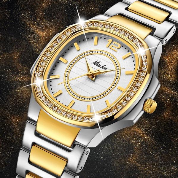 Women Watches Women Fashion Watch Geneva Designer Ladies Watch Luxury Brand Diamond Quartz Gold Wrist Watch Gifts For Women