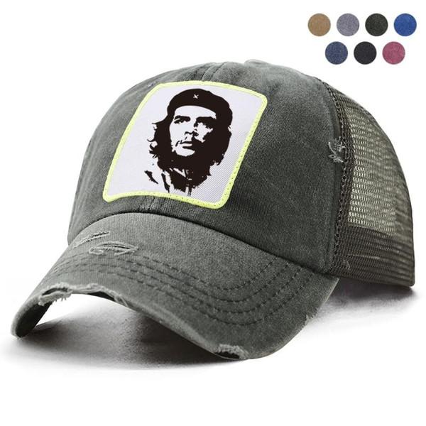 Cool Che Guevara Hero Print Cap Snapback Cotton Men's Baseball Cap Men Women
