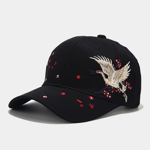 Men And Women Special Embroidery Peaked Cap Sun Hat Baseball Cap