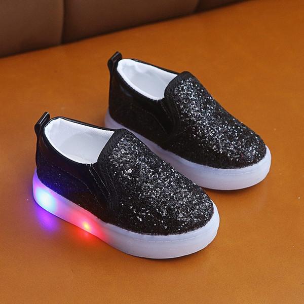 Children kids shoes Led Luminous Sport Sneaker Casual Shoes