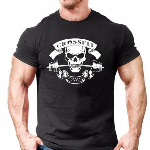 COOLMIND 100% cotton Men T-Shirt Male casual T shirt Homme Summe CROSSFIT design t-Shirts Men's Tee Shirts Man Clothes - Joelinks store