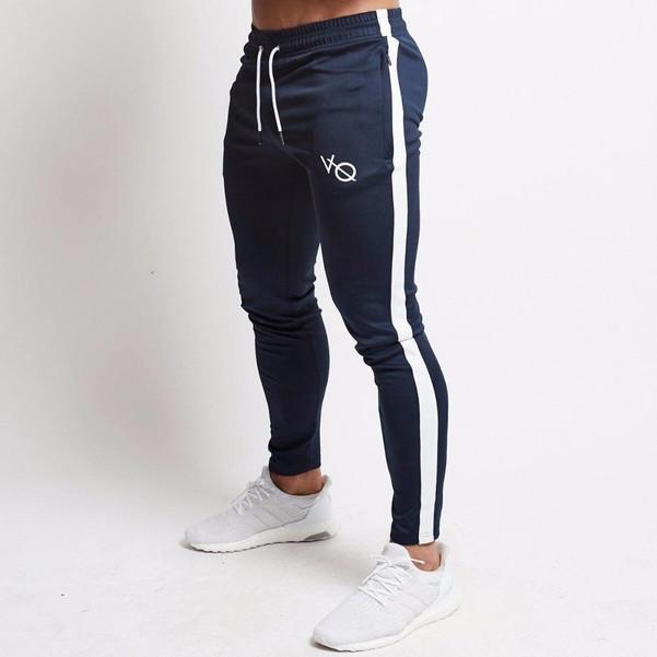 Mens Joggers Casual Pants Fitness Men Sportswear Tracksuit Bottoms Skinny Sweatpants Trousers Black Gyms Jogger Track Pants - Joelinks store