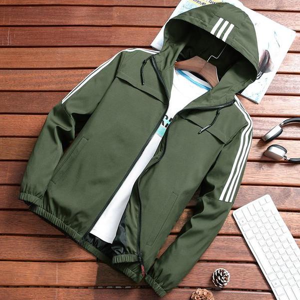 2019 Zip Up Men Jacket Spring Autumn Fashion Brand Slim Fit Coats Male Casual Baseball Bomber Jacket Mens Overcoat Plus size 4XL - Joelinks store