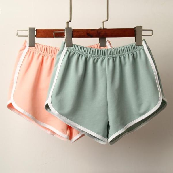 Summer Women Sleep Shorts Cotton Pajamas Pants Sleep Bottoms