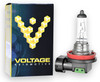 Voltage Automotive H16 Headlight Fog Light Bulb Standard Replacement