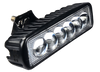 """Voltage Automotive Off Road 6"""" Flood Light Bar With 4D lens for Jeep, Truck, Driving, Off-Road Vehicles – Water Resistant Fog LED Strip Light – 18W Super Bright"""