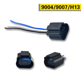 Female Socket Connector For H13 9008 9004 9007 Auto Bulb