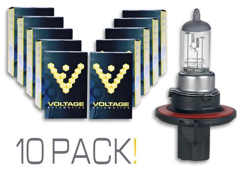 Voltage Automotive H13 9008 Headlight Bulb (10 Pack)