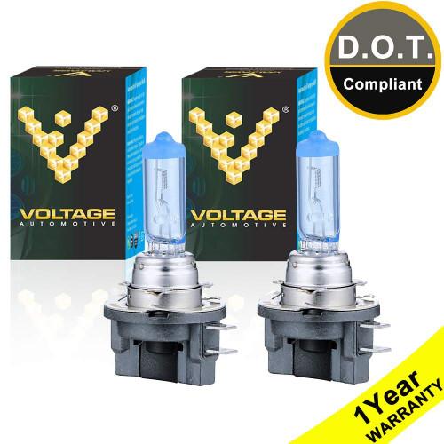 Voltage Automotive H11B Polarize White Headlight Bulb (Pair)