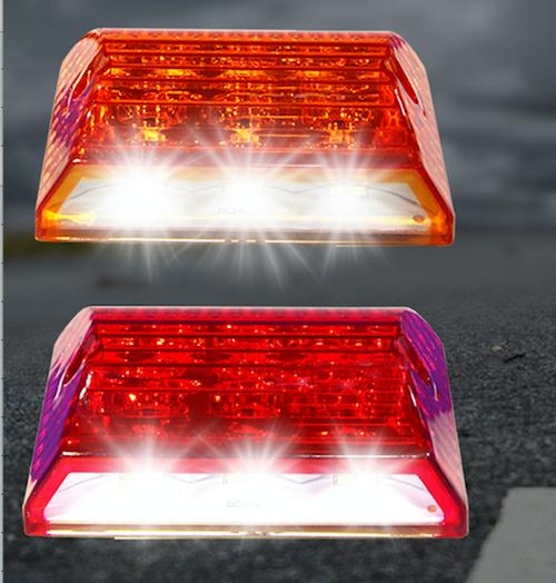 "Voltage Automotive Ground-illuminating LED Tail Brake Light Side-marker Bed Light 3.4"" (Pair)"