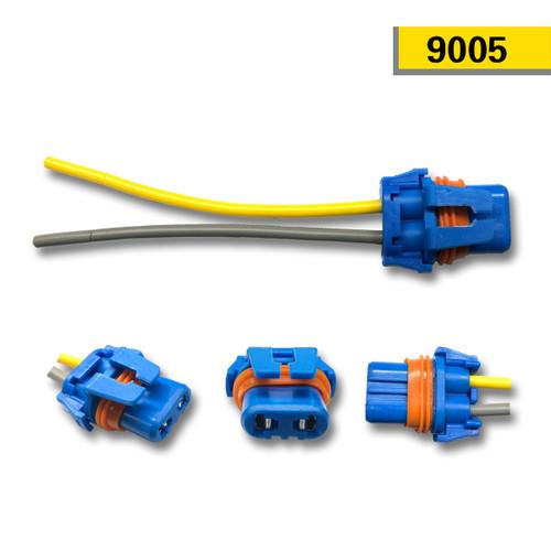 Voltage Automotive Socket Connector For 9005 HB3 Headlight Fog Light Bulb