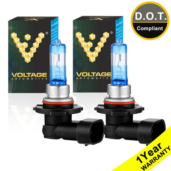 Voltage Automotive 9005 HB3 Night Eagle Headlight Bulb Brighter Upgrade Replacement (Pair)