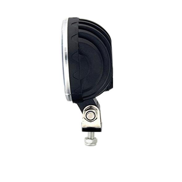 "Voltage Automotive 3"" Inch Round LED Fog Driving Light 12W Spot Light (2 Pack)"